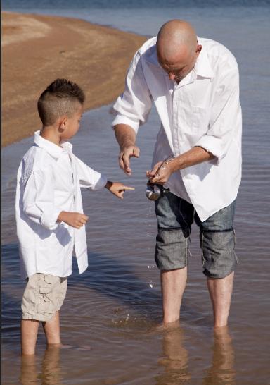 Vater und Sohn - Foto alanpoulson © 123RF