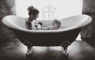 Stillen Vorsprung gestillter Kinder - Foto © Melissa Jean