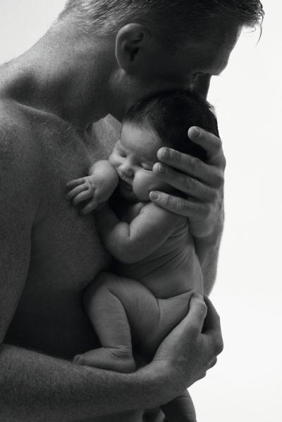 Vater-Säugling - Foto © Kerstin Pukall