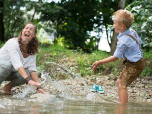 Vertrauensvolle Erziehung - Foto photocase © arthurbraunstein