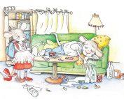 Wenn Kinderseelen zerbrechen - Zeichnung © Julia Ginsbach