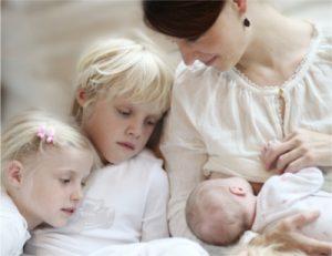 Familie leben - Foto Stillen © Kertin Pukall