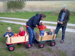 Jedes Kind ist anders - Foto Ausflug mit Enkelkindern © Bachmann privat